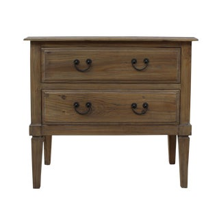 Natural Light Tone Raw Wood Dresser