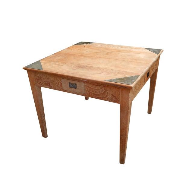 Anglo raj game table chairish for 52 game table