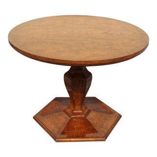 1950s French Art Deco Foyer Center Table
