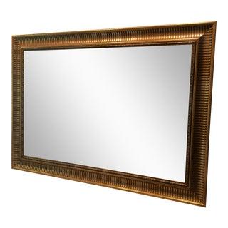 Modern Gilt Mirror