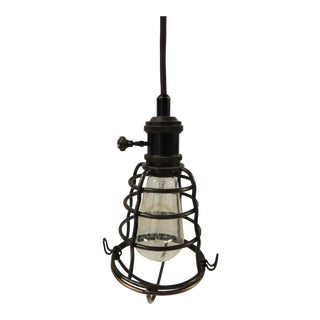 Formation Style Industrial Cage Pendant Light