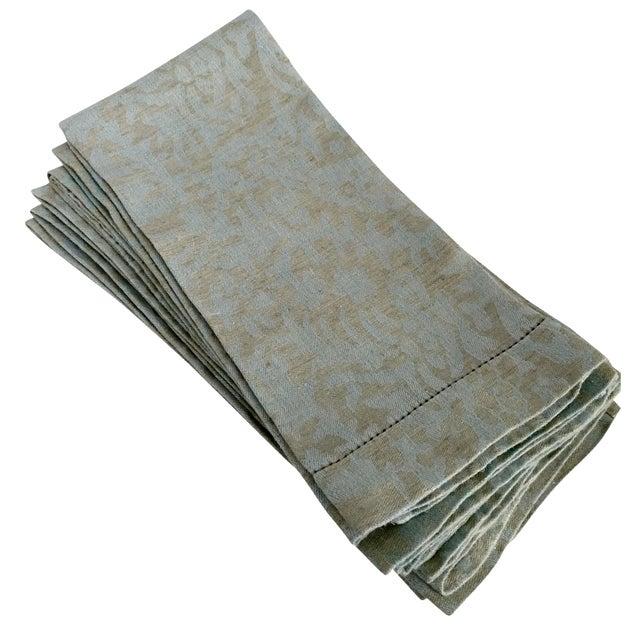 Eastern European Linen Guest Towels - Set of 6 - Image 1 of 5