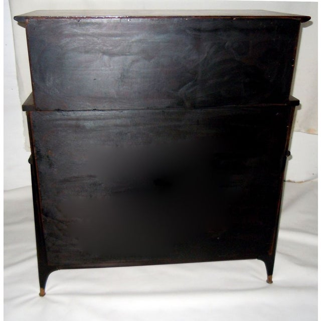 Mid-Century Modern Walnut & Painted Dresser - Image 7 of 8