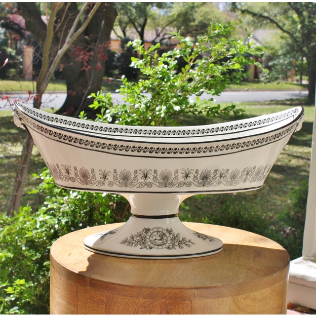 Vintage Toile Mottahedeh Tureen - Image 2 of 7