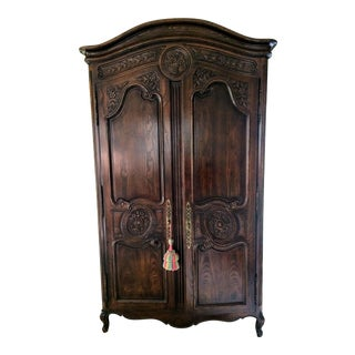 Henredon Four Centuries Collection French Country Armoire Cabinet