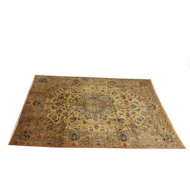 "Persian Mashad 10'10"" x 8' Rug - Image 5 of 5"