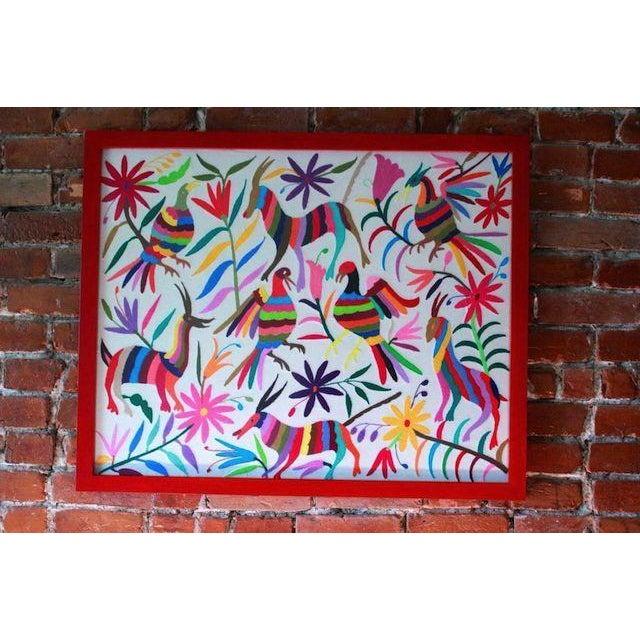 Hand-Woven Tenango Wall Decor Textile - Image 2 of 4