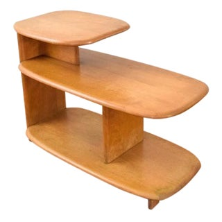 Heywood Wakefield Mid-Century Tiered End Table