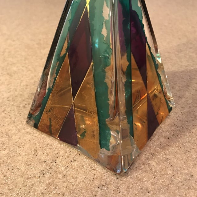 Hand Painted Perfume Bottle - Image 10 of 11