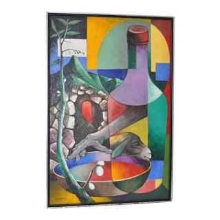 Jacques Enguerrand Gourgue Haitian Painting c.1950