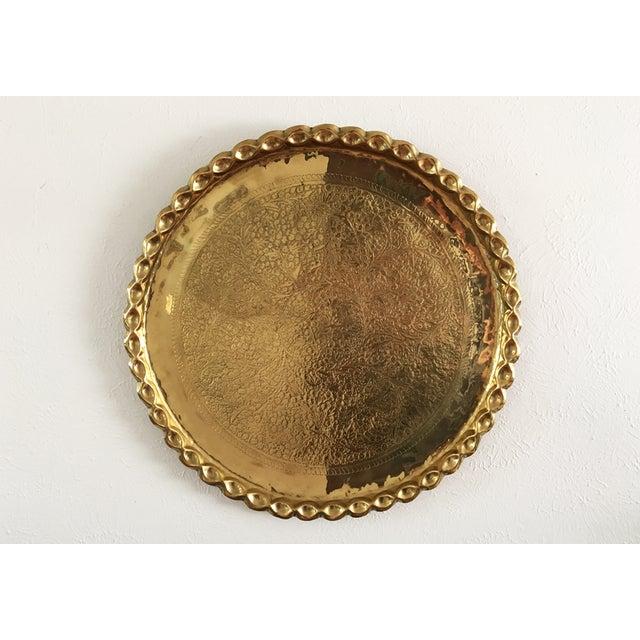Vintage Brass Plate 58