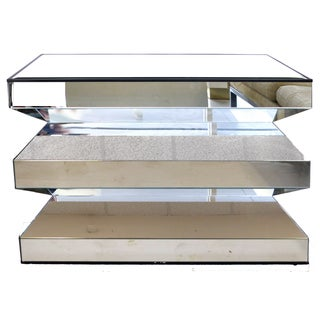 Angled Mirror Console -- or Dinning Table Base