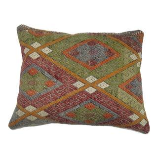 Turkish Kilim Rectangular Pillow