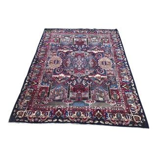 Pictorial Antique Persian Rug - 10' x 13'
