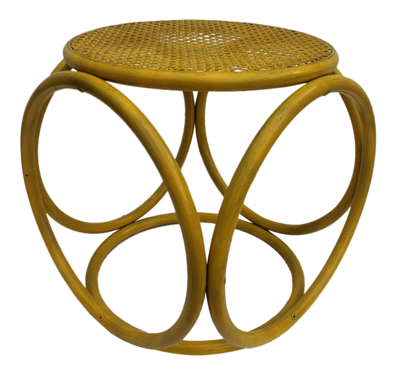 yellow stools furniture. bentwood u0026 cane yellow painted stool side table in the style of michael thonet stools furniture