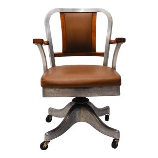 Shaw Walker Mid-Century Industrial Office Chair