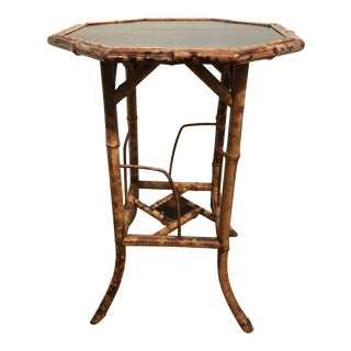 English Bamboo Stand Lacquer Top