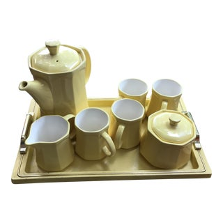 Mid-Century Modern Japanese Tea Serving Set - Set of 8