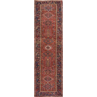 "Apadana - Persian Heriz, 3' X 14'4"""