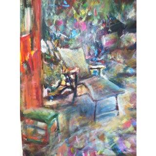 Sunlit Place Acrylic on Canvas