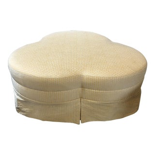 Hickory Chair Co. Cloverleaf Ottoman