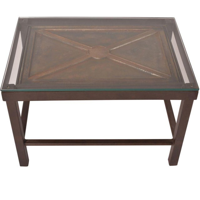 Reclaimed Iron Coffee Table - Image 5 of 5