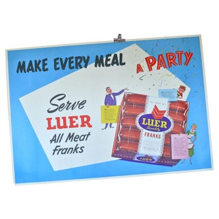 Make Every Meal A Party Poster by Luer Franks