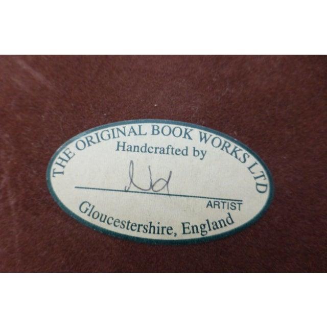 Original Bookworks Library Waste Basket Faux Book - Image 5 of 8