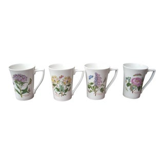 Portmeirion Mugs - Set of 4