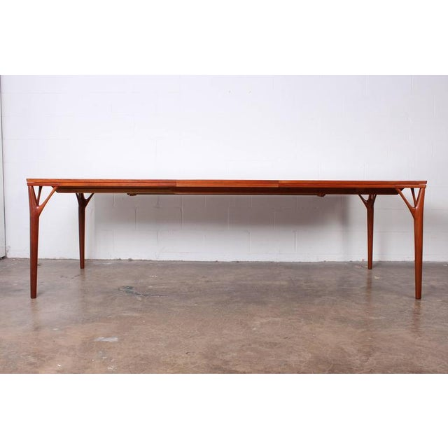 Sculptural Teak Dining Table - Image 4 of 10