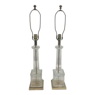 Frederick Cooper Vintage Crystal Lamps