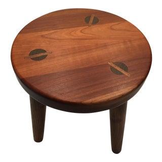 Modern Handmade Wood Stool