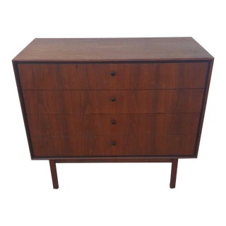 Milo Baughman for Arch Gordon Bachelors Walnut Lowboy, 1950s