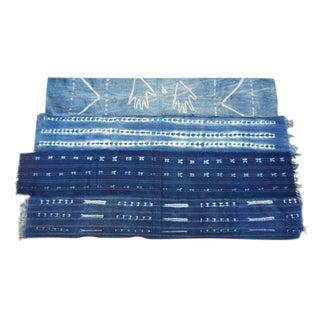 Vintage African Indigo Mudcloth Textile/Throw