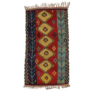 "Vintage Berber Moroccan Rug - 3'6"" x 6'2"""