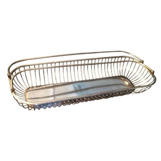 F. B. Rogers Silver Plate Wire Basket