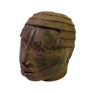 Bronze African Head