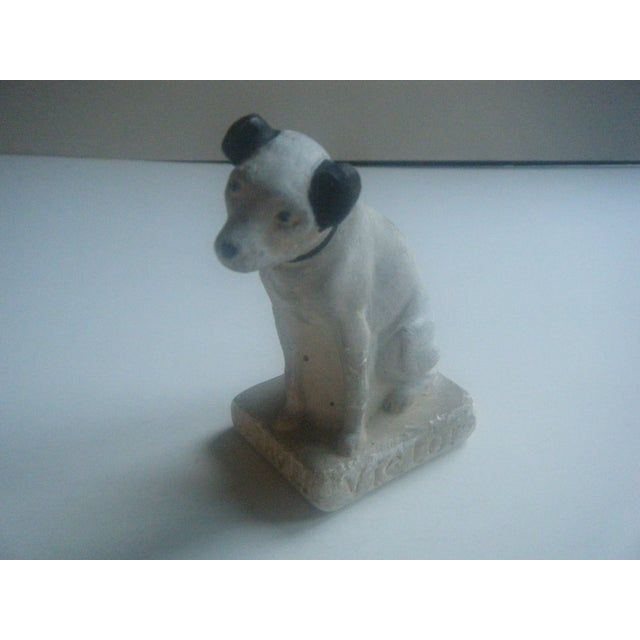 Image of 1930s Chalkstone Nipper RCA Victor Dog Figurine
