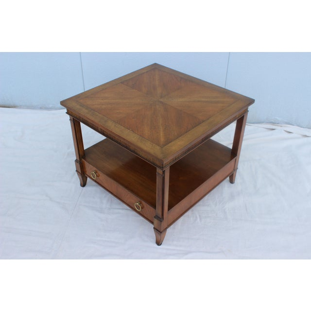 1960s Baker Tiered Nightstands - A Pair - Image 5 of 9