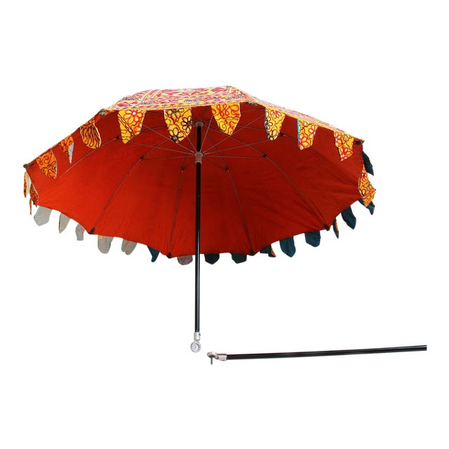 Embroidery & Mirror Work Umbrella - Image 1 of 5