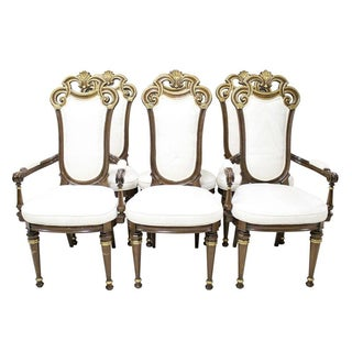 French Gilded Chairs - Set of 6