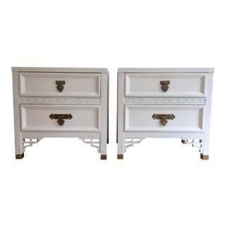 Dixie Shangri-La Nightstands - A Pair