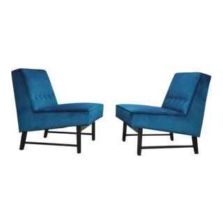 Dunbar Angular Slipper Chairs