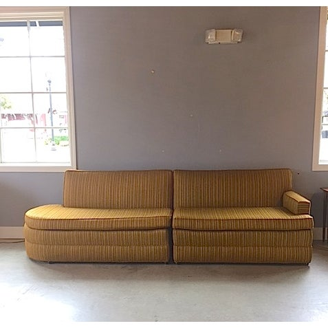 Mid Century 3 Piece Sectional Sofa - Image 4 of 8