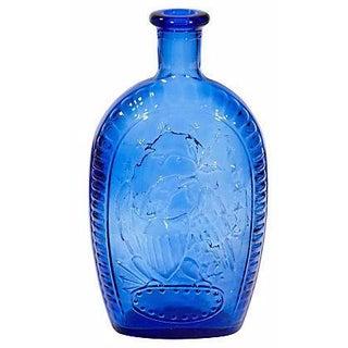 1970s Cobalt Bicentennial Bottle