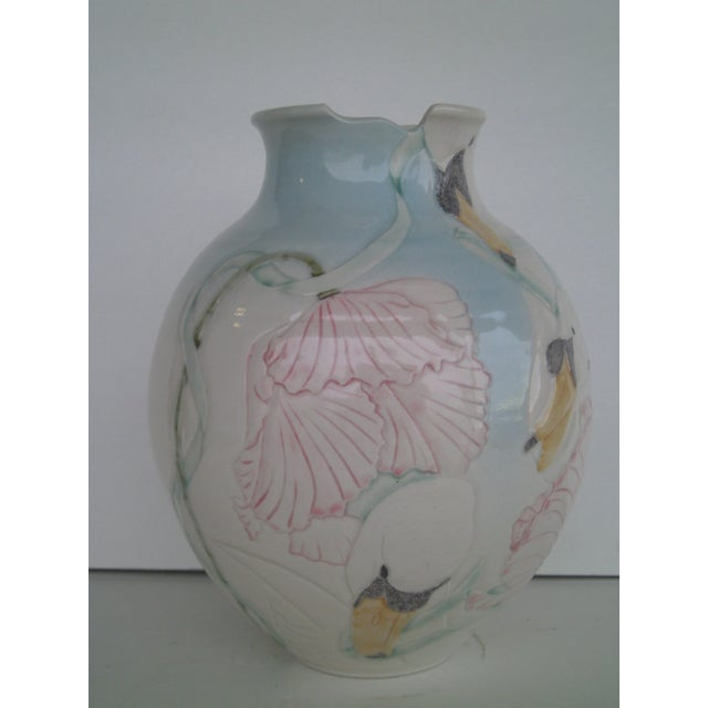 Vintage Art Pottery Vase - Image 3 of 10