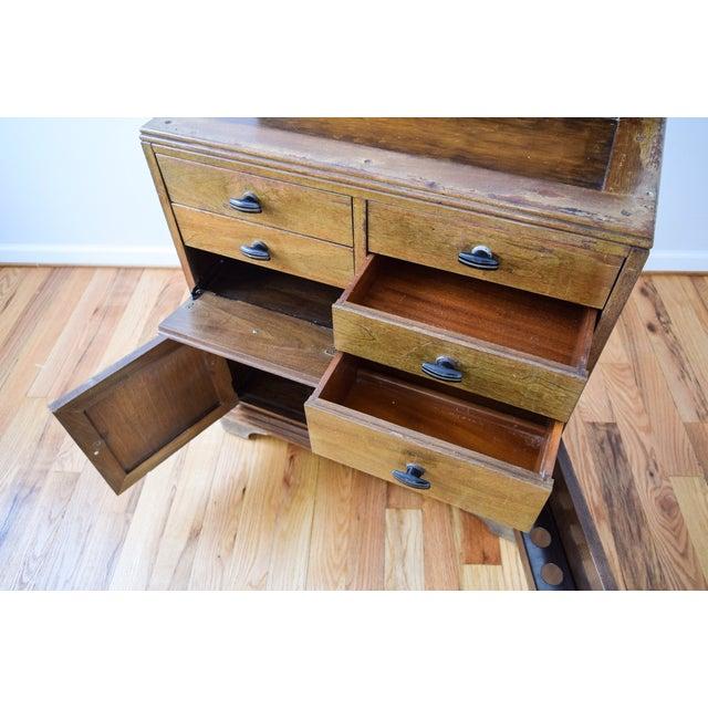 Image of Antique Art Deco Medical Dental Cabinet