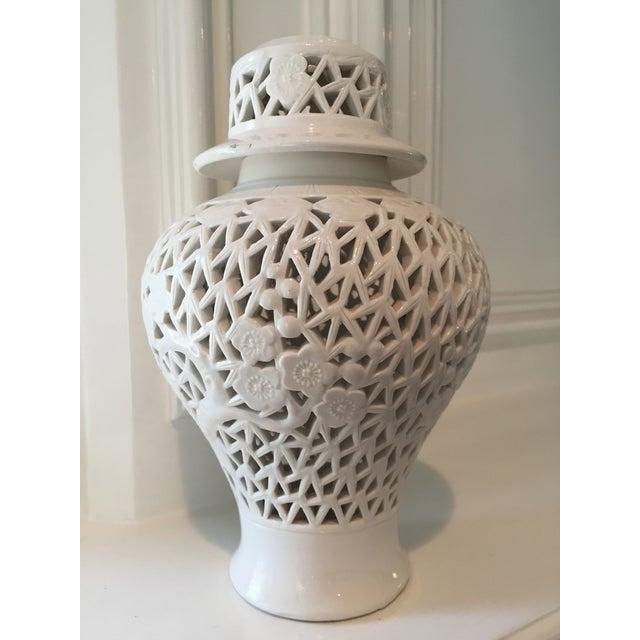 small blanc de chine vase chairish. Black Bedroom Furniture Sets. Home Design Ideas