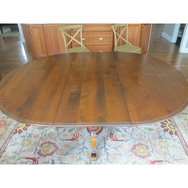Ethan Allen Country French Table Chairish