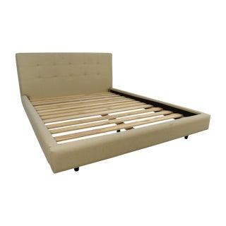 Crate & Barrel Tate Upholstered California King Bed